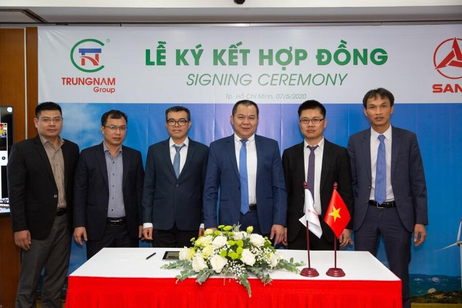 Hợp đồng cung cấp thiết bị SANY có giá trị lớn nhất từ trước đến nay tại thị trường Việt Nam