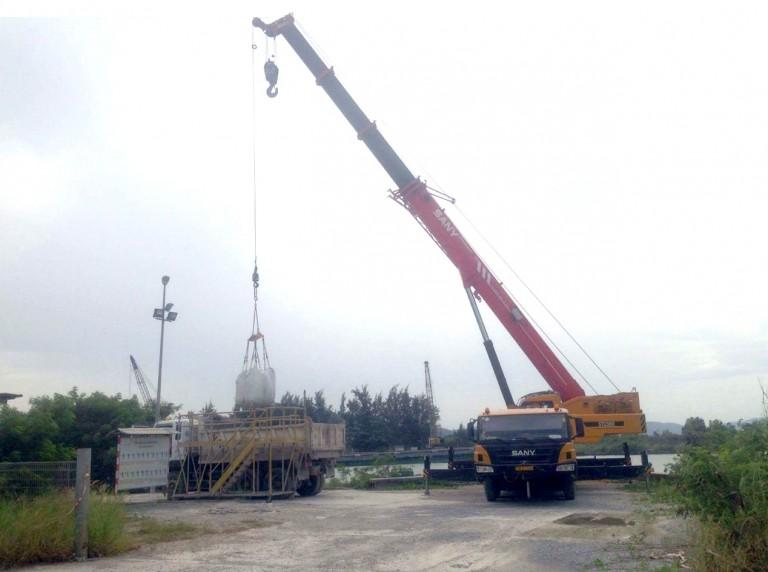 Nhà máy xi măng Hòn Chông – Kiên Giang