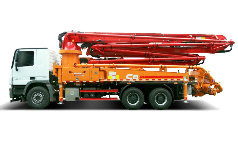 Xe bơm cần dòng C8 – 47m